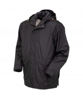 outback trading pak-a-roo parka jacket black