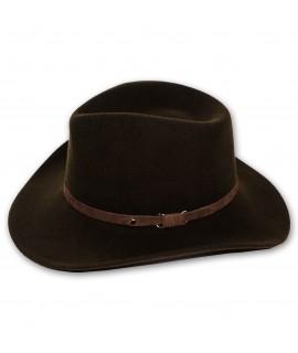 bigalli dundee expedition wool felt crushable hat