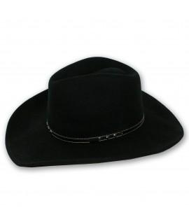 bigalli hats bandit wool felt crushable hat black
